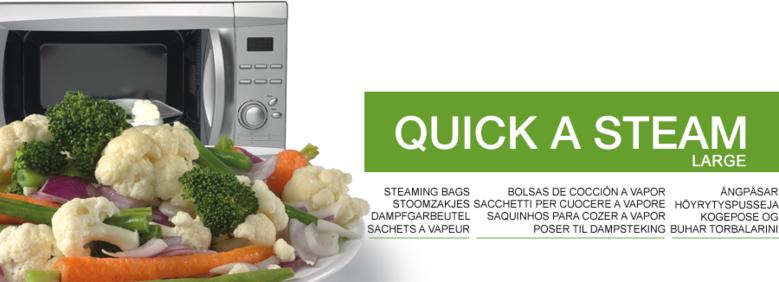 Quick a Steam - De lekkerste gerechten eenvoudig in de magnetron bereiden!