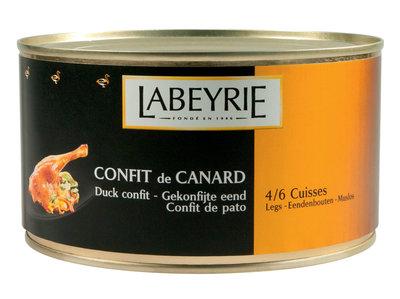 Confit de Canard Labeyrie (4/6 bouten)