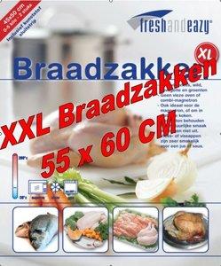 100 XXL Braadzakken 55 x 60 cm