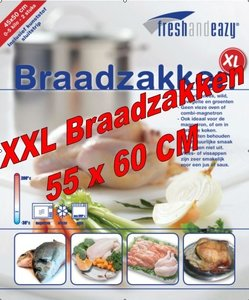 10 XXL Braadzakken 55 x 60 cm