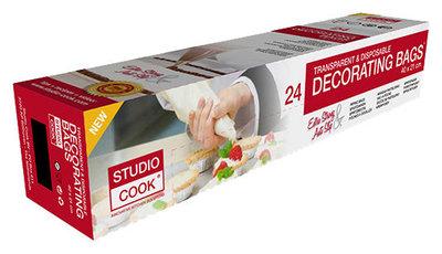 Studio Cook Decorating Bags / Spuitzakken 24 Stuks
