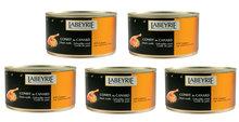 Actie-5-blikken-Labeyrie-Confit-de-Canard-5-6-Bouten-per-Blik
