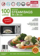 100-x-Studio-Cook-Stoomzakken-Quick-a-Steam-Large-25-x-26-cm